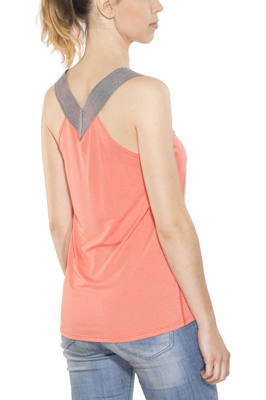 dcaacec202 Haglöfs Ridge - Camisa sin mangas Mujer - naranja